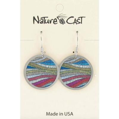 Colorful Layers Dangle Earring