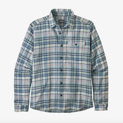 Men's Long-Sleeved Lightweight Fjord Flannel Shirt