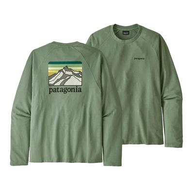 Men's Line Logo Ridge Lightweight Crew Sweatshirt