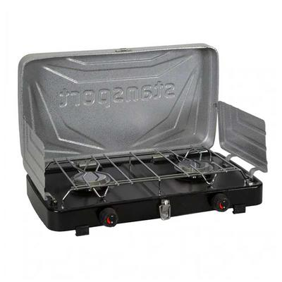2-Burner Regulated Propane Stove