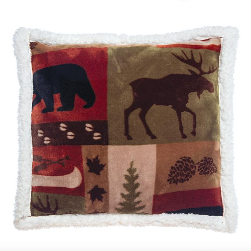 Patchwork Lodge Pillow