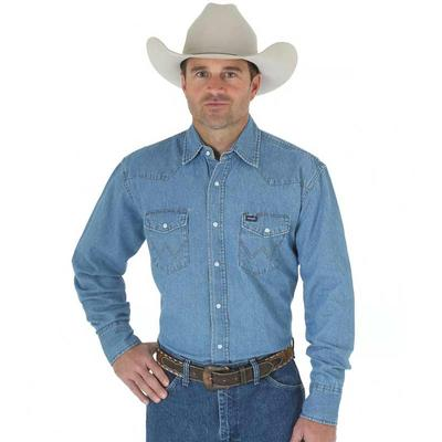 Men's Cowboy Cut Western Denim