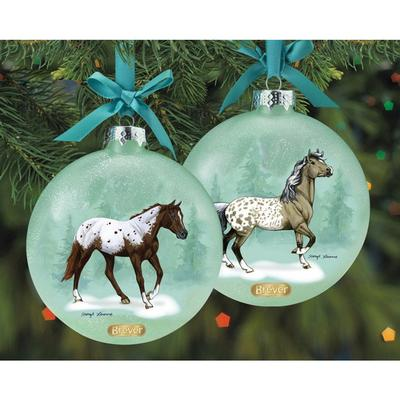 Artist Signature Ornament Appaloosas