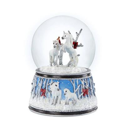 Enchanted Forest Musical Snow Globe