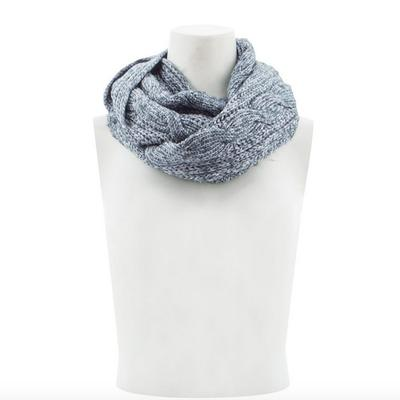 Women's Cable Infinity Scarf