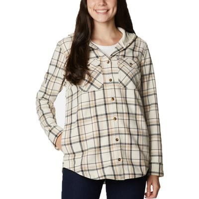 Women's Columbia City™ Hooded Long Sleeve Shirt