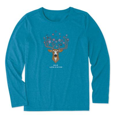 Women's Pretty Dear Long Sleeve Cool Tee