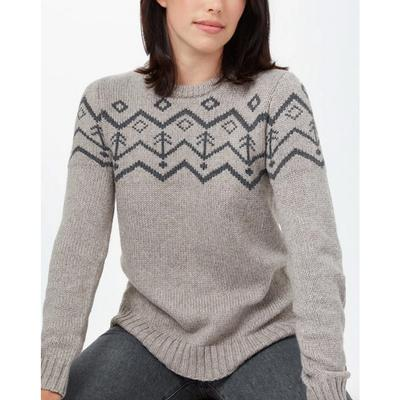 Women's Highline Wool Intarsia Sweater
