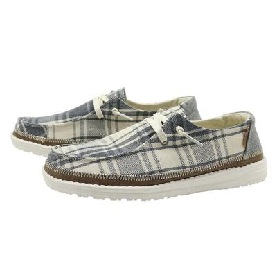 Wendy Plaid Grey