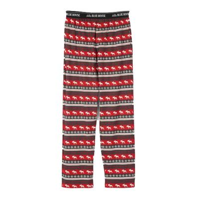 Men's Fair Isle Moose Pajama Pants
