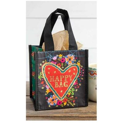 Small Floral Heart Happy Bag