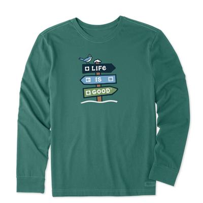 Men's Ski Day Long Sleeve Crusher Tee