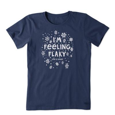 Women's I'm Feeling Flaky Crusher Tee