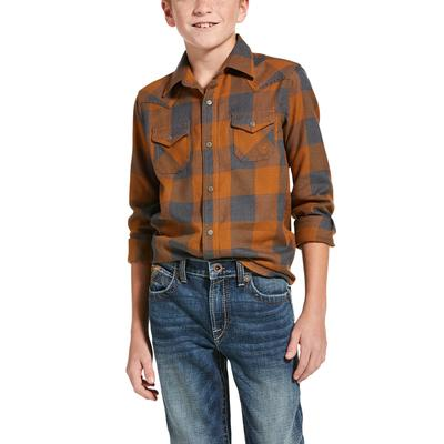 Boy's Button Down Shirt