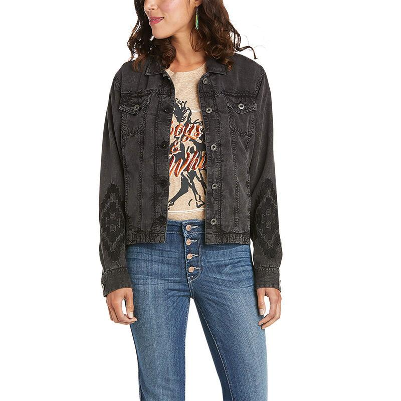 Womens Saloon Trucker Jacket