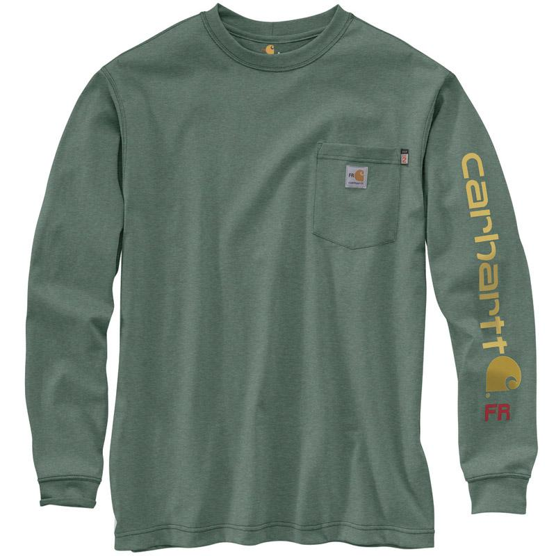 Men's Flame Resistant Force Original Fit Midweight Long Sleeve Signature Sleeve Logo