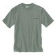 Men's Short Sleeve Relaxed Fit Heavy Weight Anvil Back Graphic T- Shirt