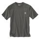Men's Short Sleeve Loose Fit Heavy Weight Pocket Woods Back Graphic T- Shirt