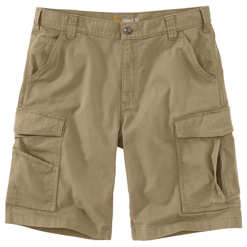 Rugged Flex Relaxed Fit Canvas Cargo Work Short