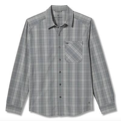 Men's Spotless Plaid Long Sleeve Shirt