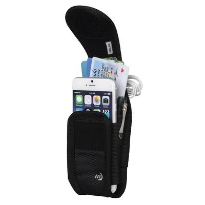 Clip Case Cargo Universal Rugged Holster - Tall - Black