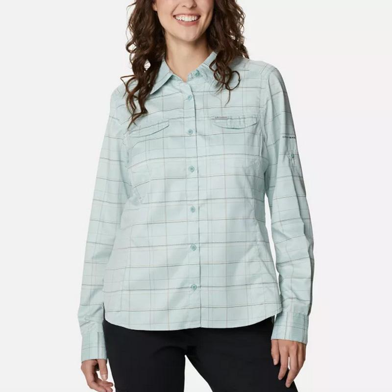 Women ' S Silver Ridge ™ Lite Plaid Long Sleeve Shirt