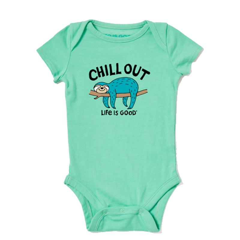Baby Chill Out Sloth Crusher Bodysuit
