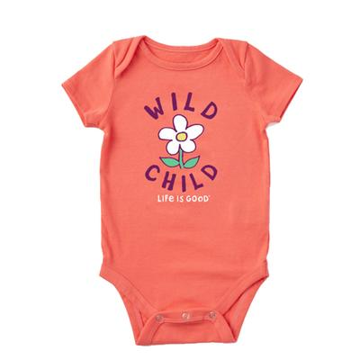 Baby Wild Child Flower Crusher Bodysuit