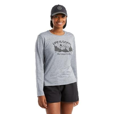 Women's Don't Forget To Play Long Sleeve Active Tee
