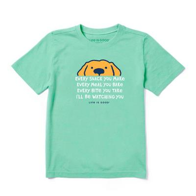 Kids I'll Be Watching You Crusher Tee