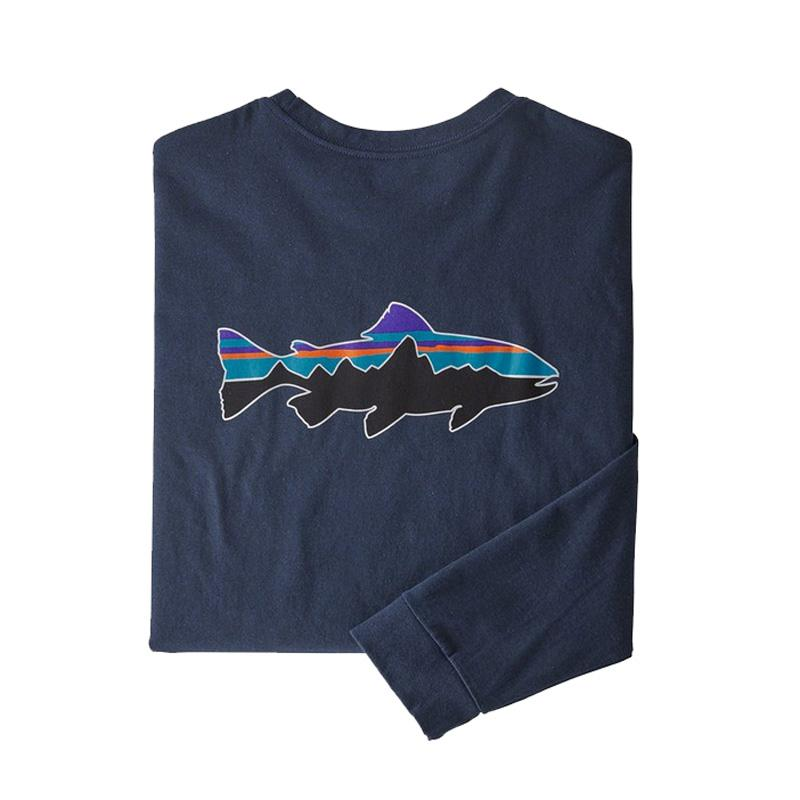 Men's Long- Sleeved Fitz Roy Trout Responsibili- Tee ®