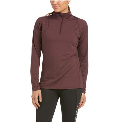 Women's Auburn 1/4 Zip Long Sleeve Baselayer