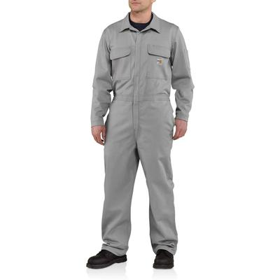 Men`S Flame-Resistant Traditional Twill Coverall