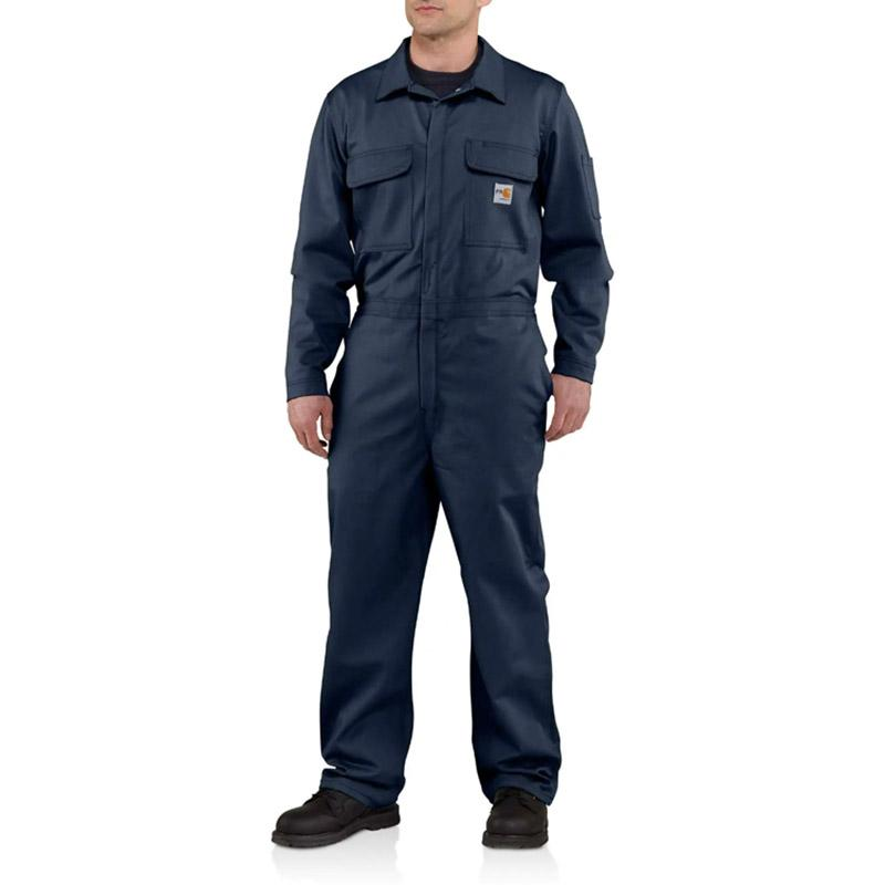 Men's Flame- Resistant Traditional Twill Coverall