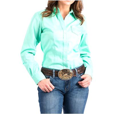 Women's Long Sleeve Solid Shirt