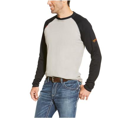 Mens Fr Long Sleeve Baseball Tee