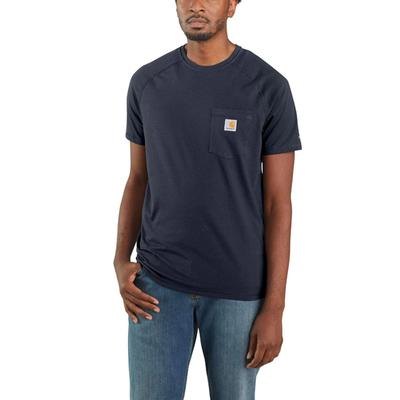 Mens' Force Relaxed Fit Midweight Short Sleeve Pocket T-Shirt