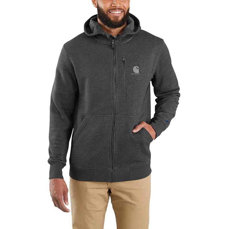 Men's Force Relaxed Fit Midweight Full- Zip Sweatshirt