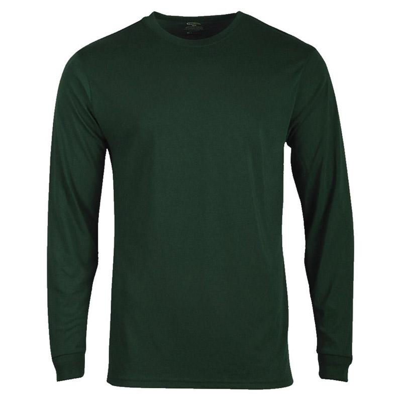 Mens Long Sleeve Tech T- Shirt