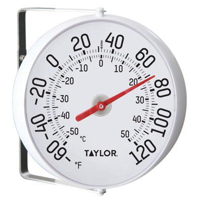 THERMOMETER WITH BRACKET 5-1/4 IN
