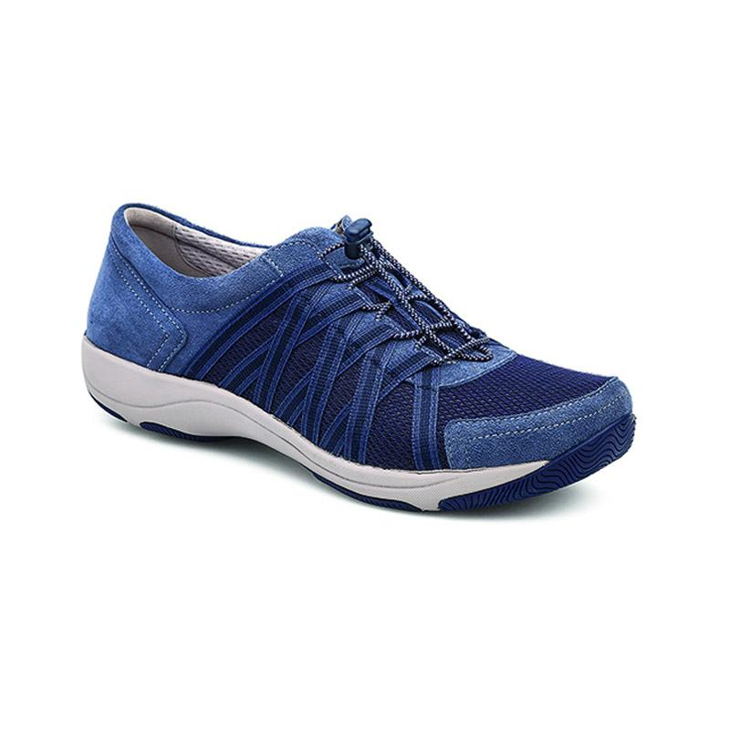 Honor Wide Blue Suede