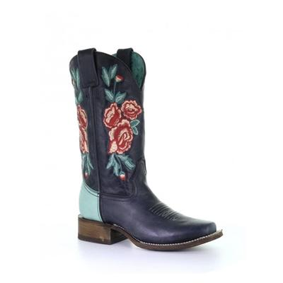 Floral Embroidery Rodeo Collection Western Boots