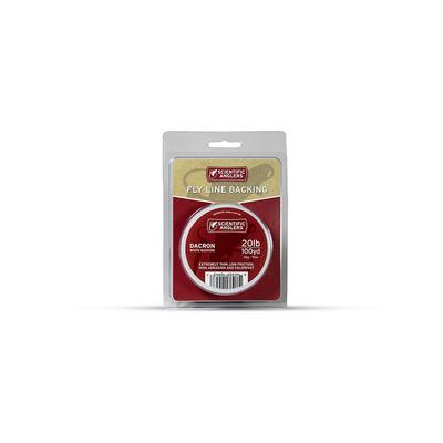 Fly Line Dacron Backing 20Lbs 100Yd Org