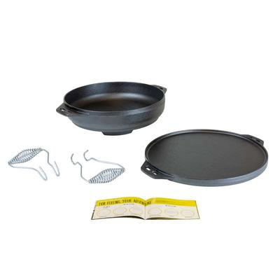 Lodge 14 Inch Cast Iron Cook-it-All Pan