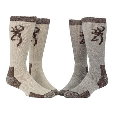 Browning Unisex Poplar Sock (L) - Two Pack