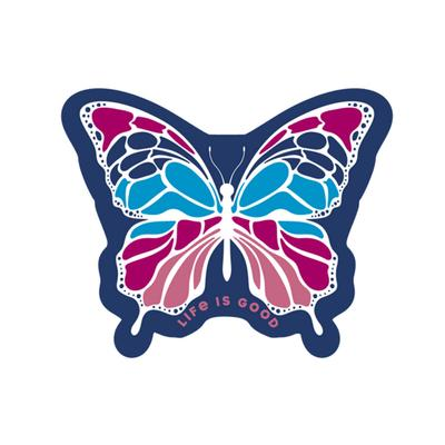Butterfly Small Die Cut Decal