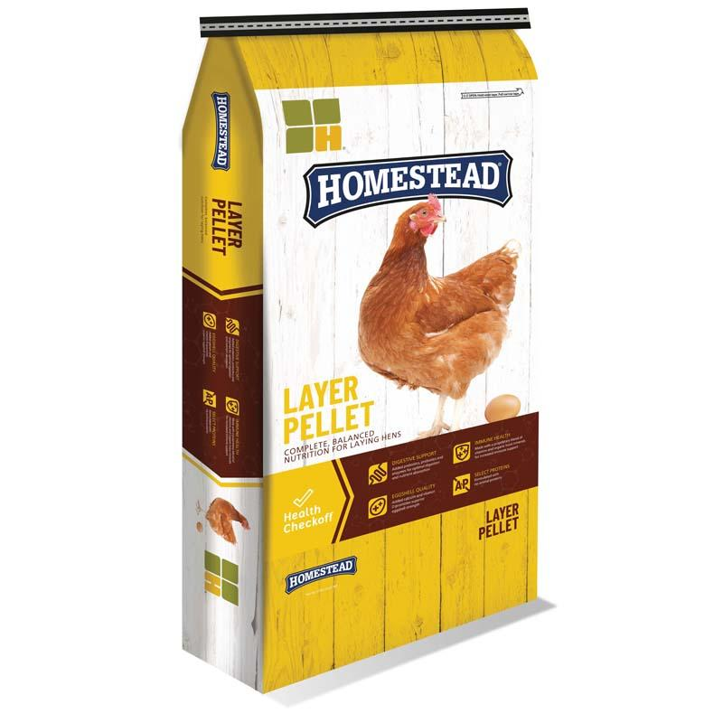Homestead 16 % Complete Layer Feed Pellet