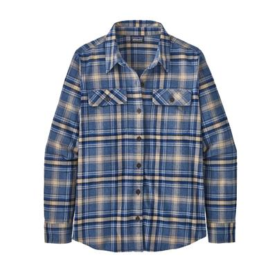 Women's Long-Sleeved Organic Cotton Midweight Fjord Flannel Shirt