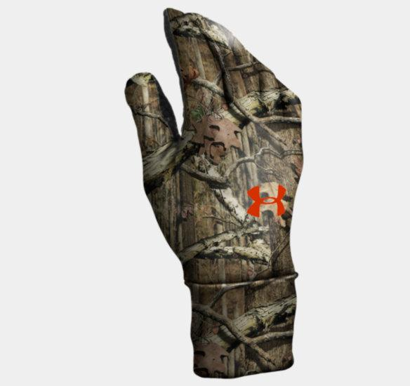 1147146961 Mens ColdGear Camo Liner Gloves