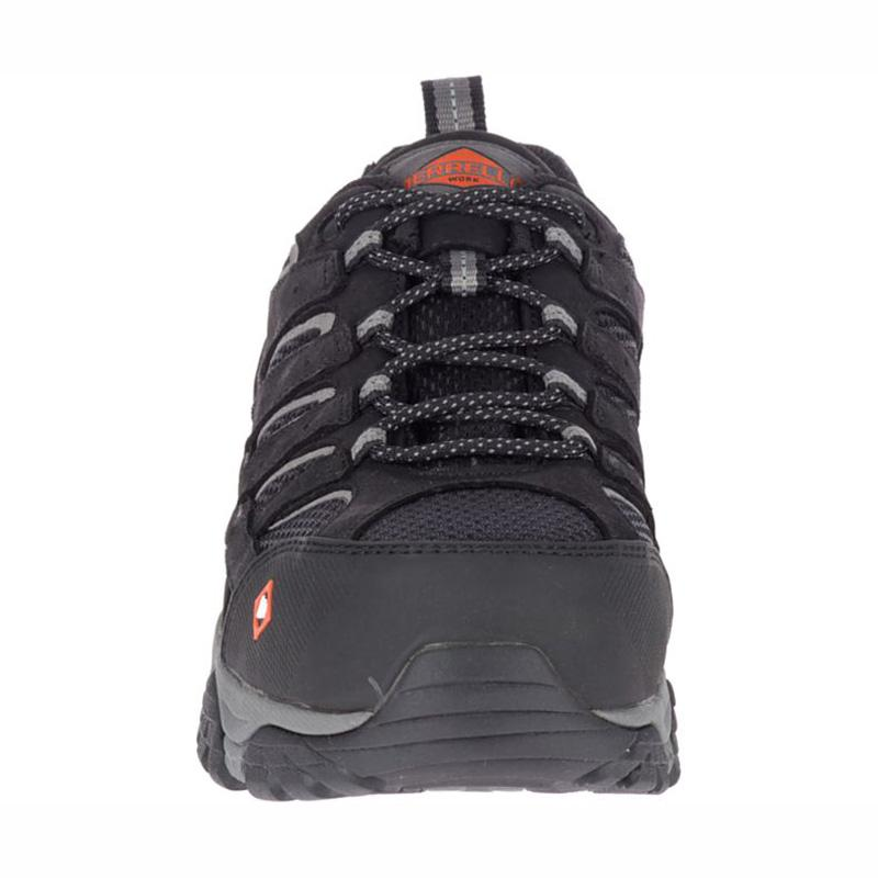 4ec30ac55e Merrell Mens Moab Vertex Vent Comp Toe Work Shoe